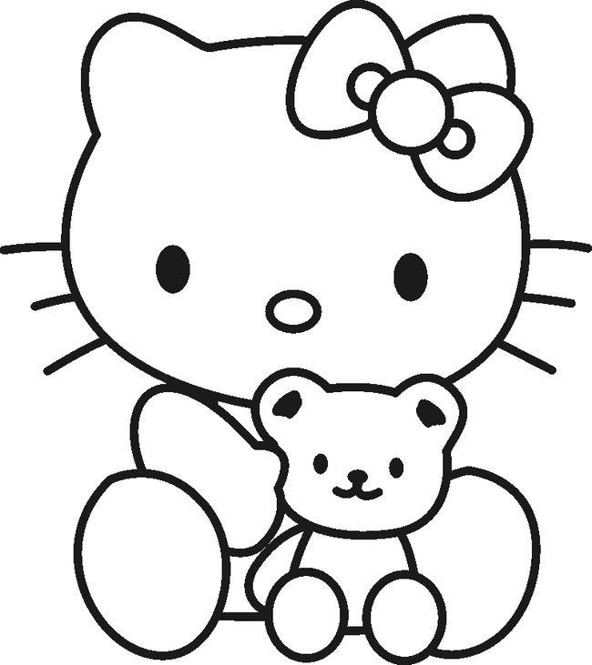 Disegni Da Stampare E Colorare Di Hello Kitty
