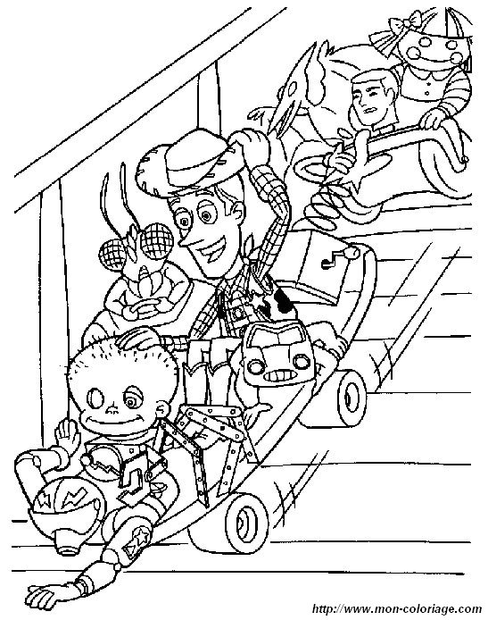 Colorare Toy Story Disegno Toy Story 4