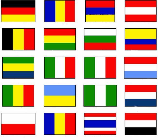 Colorare Bandiera Disegno Bandiere Del Mondo