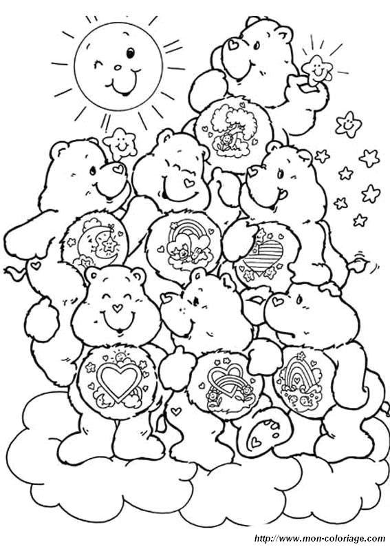 Colorare Gli Orsetti Del Cuore Disegno Gli Orsetti Del Cuore 5