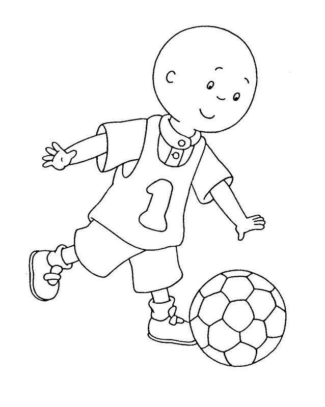 Bambino Che Gioca A Calcio Disegno Da Colorare Coloradisegni