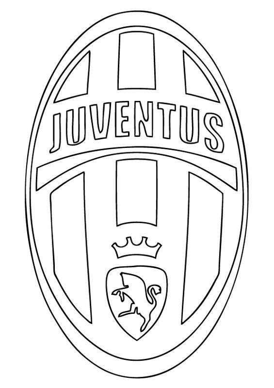 Colorare Calcio Disegno Juventus Fc