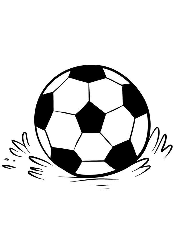 Colorare Calcio Disegno Pallone Da Calcio