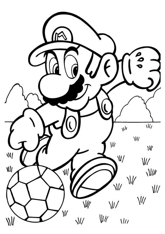 Tutto Il Meglio Di Personaggi Super Mario Da Colorare E Stampare Su