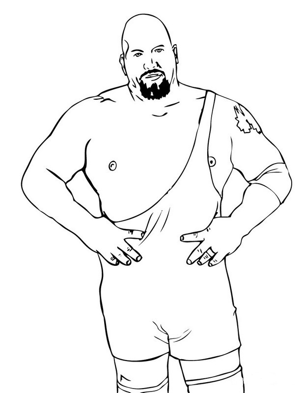 bethesta the wrestler coloring pages - photo#4