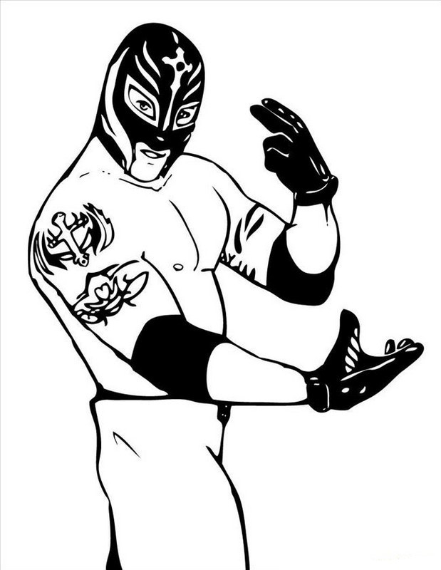 bethesta the wrestler coloring pages - photo#9