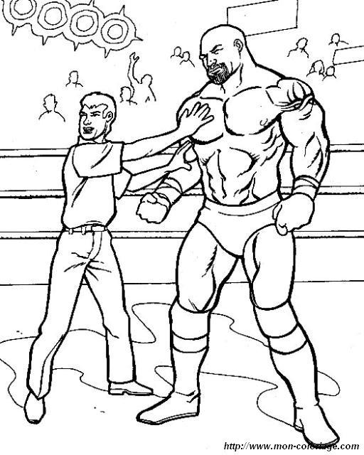 Wrestling Da Colorare.Colorare Wwe Wrestling Disegno Wrestling 137