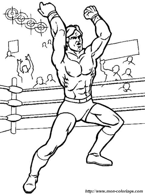 Colorare wwe wrestling disegno wrestling 139 - Coloriage wwe ...