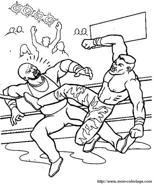 Wrestling Da Colorare.Colorare Wwe Wrestling Disegno Wrestling 140