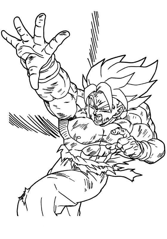 Immagini Di Dragon Ball Z Da Colorare