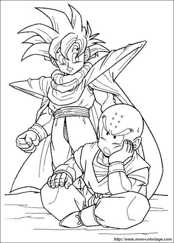 Colorare Dragon Ball Z disegno