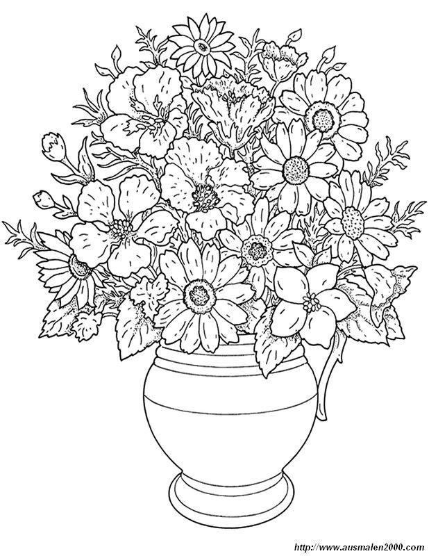 Colorare Fiore Disegno Fiori Da Colorare Per Gli Adulti