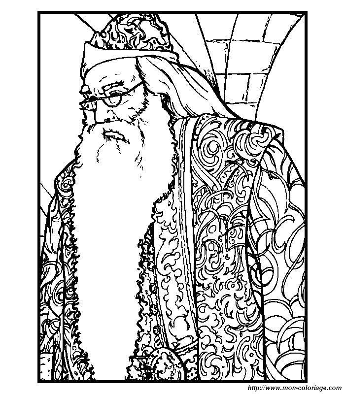 Colorare Harry Potter Disegno 021