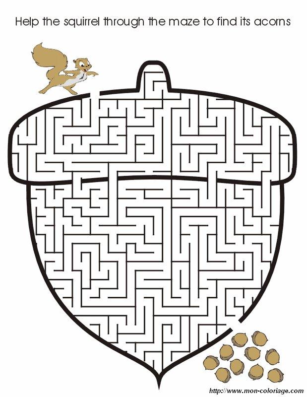 Colorare giochi di labirinto disegno labirinto 6 - Labyrinthe a imprimer ...