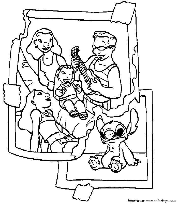 Colorare Lilo E Stitch Disegno 009