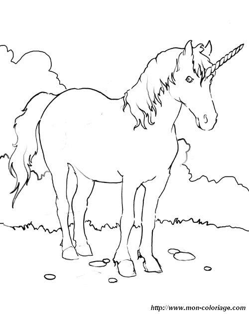 Colorare unicorno disegno 18 unicorno - Libero unicorno pagine da colorare ...