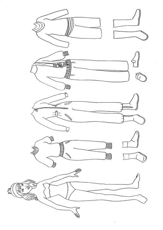 Colorare Disegni Da Ritagliare Disegno Vestiti Di Barbie Da Colorare