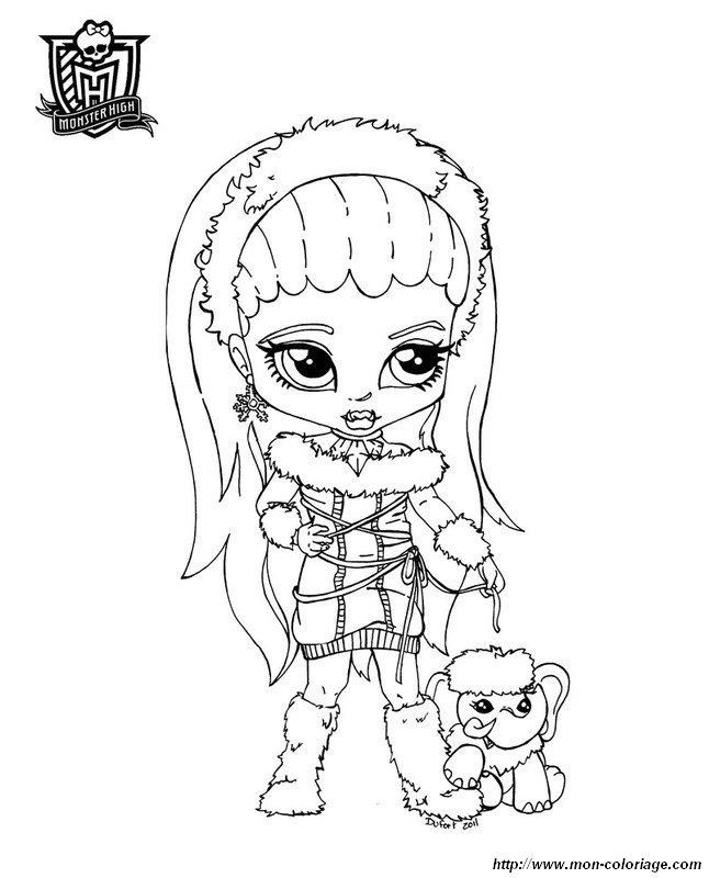 Monster High Immagini Da Colorare.Colorare Monster High Disegno Monster High Stampare