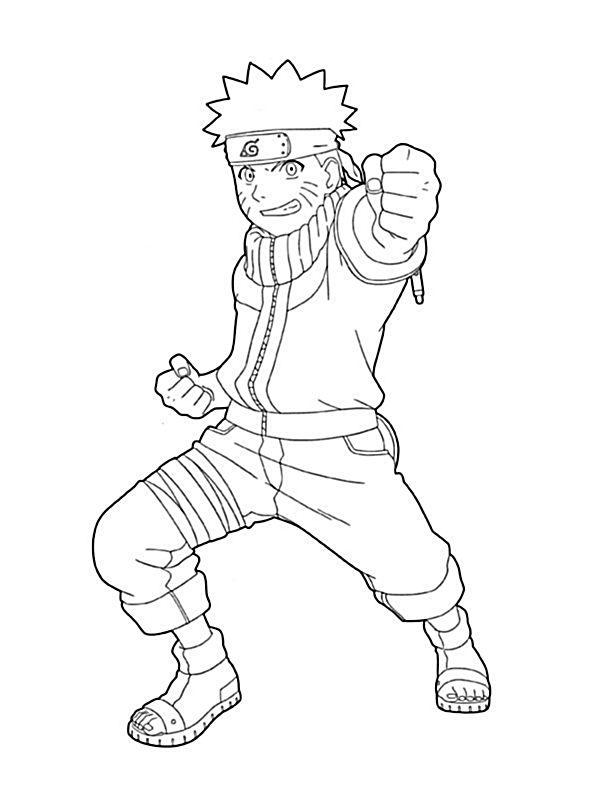 Colorare Naruto Disegno Colorare Naruto Uzumaki