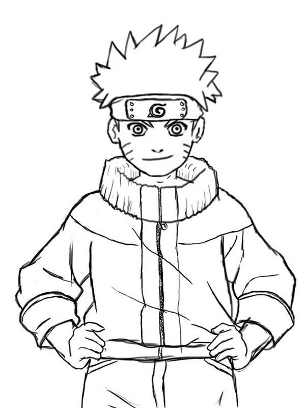Colorare Naruto Disegno Disegnare Facilmente Naruto