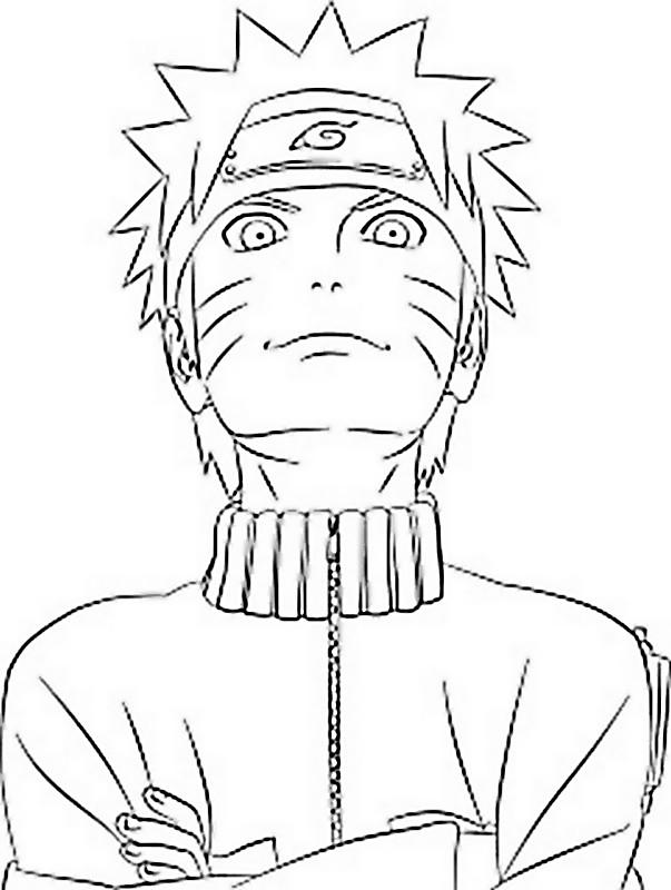 Colorare Naruto Disegno Un Ninja Molto Simpatico