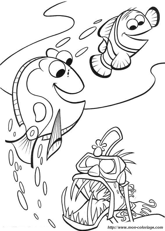Colorare Alla Ricerca Di Nemo Disegno Nemo30