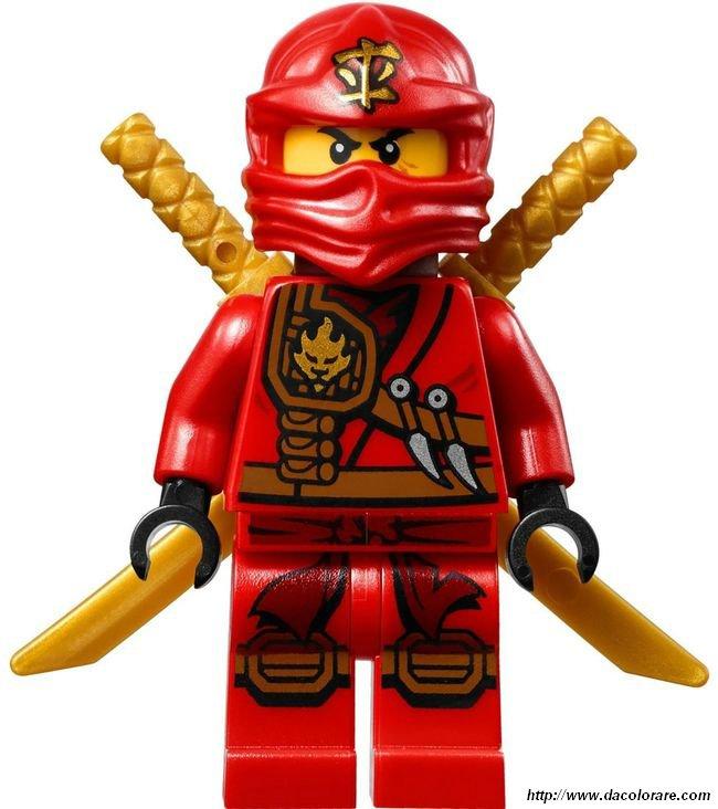 Colorare Ninjago Disegno Lego Ninjago Colore