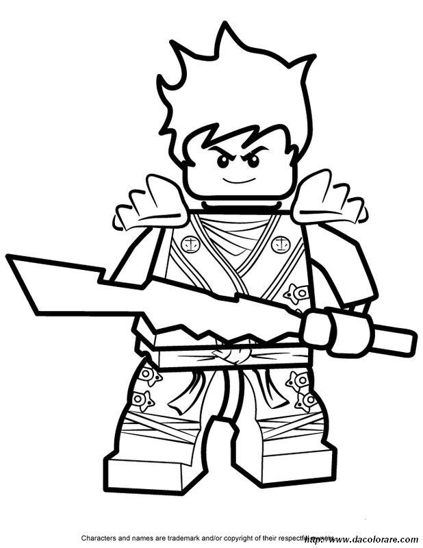 Miglior Collezione Ninja Go Da Colorare Disegni Da Colorare