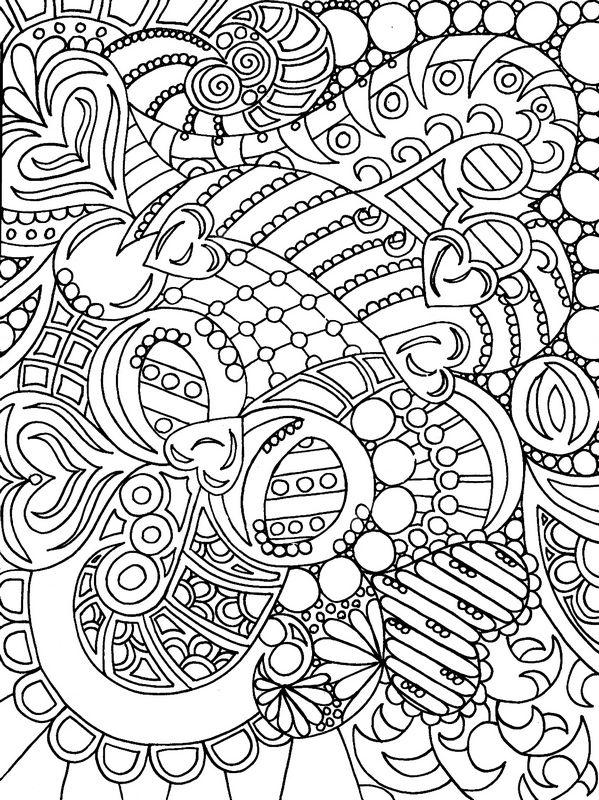 Colorare Per Adulti Disegno Arte Terapia