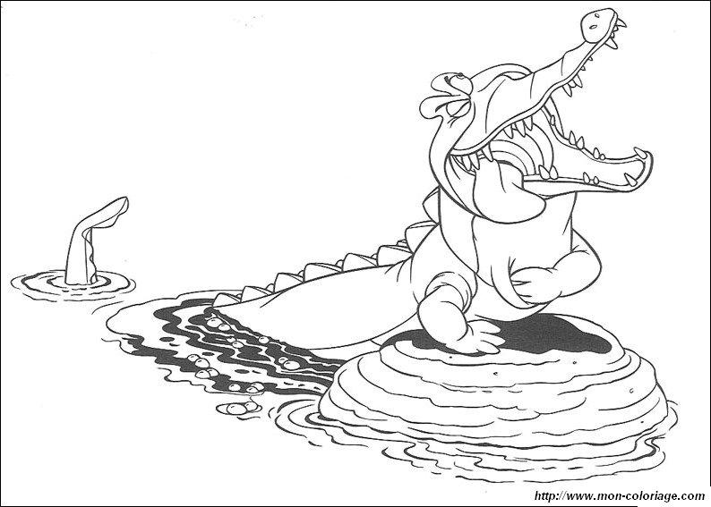Colorare Peter Pan Disegno Peter Pan 2