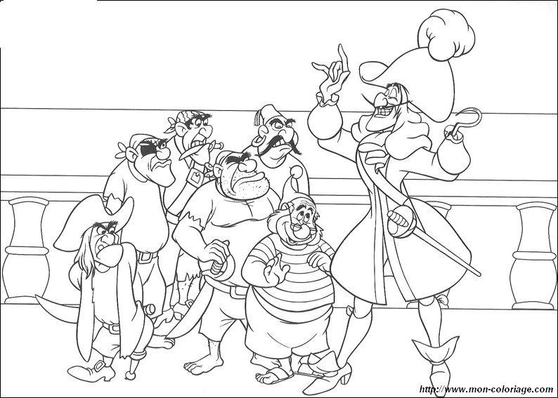 Colorare Peter Pan Disegno Peter Pan 4
