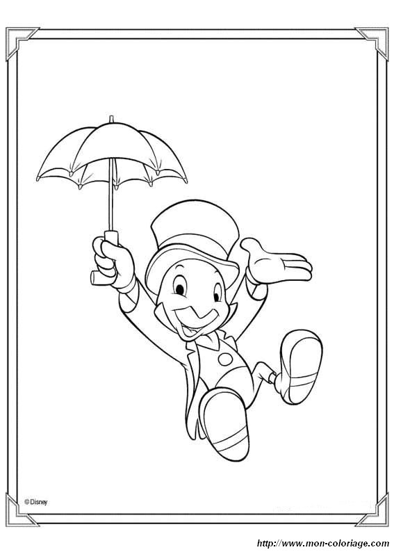 Colorare Pinocchio Disegno Disegni Pinocchio