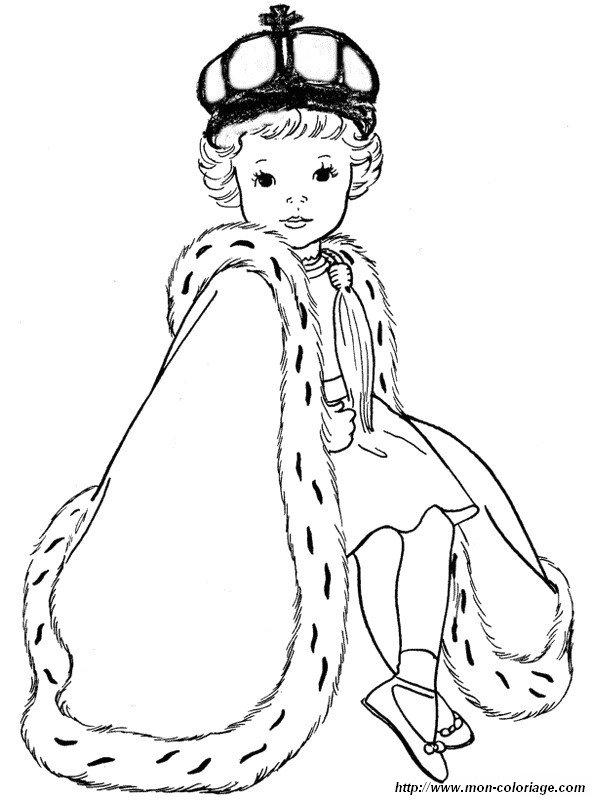 Colorare Principessa E Principe Disegno Piccolo Principe