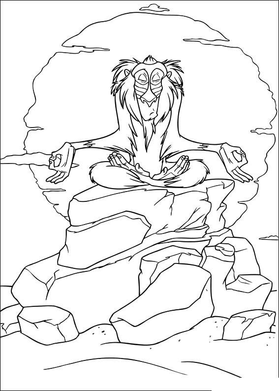 Colorare Il Re Leone Disegno Il Re Leone 3