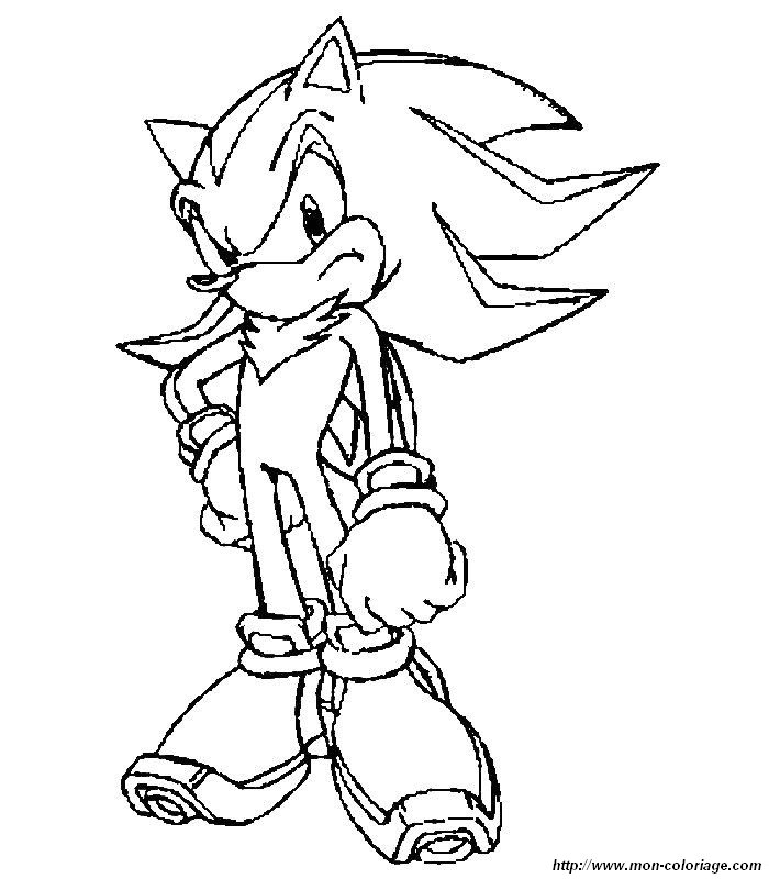 Sonic And Shadow Pictures To Color Amy