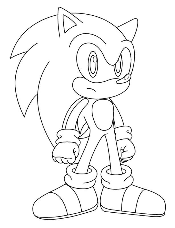 Colorare Sonic Disegno Serie Di Videogiochi