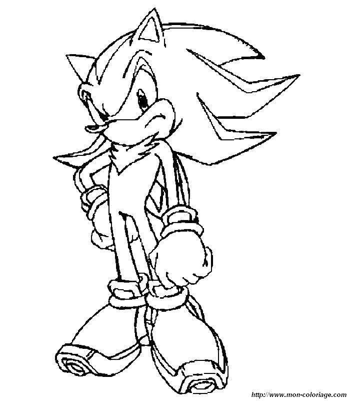 Colorare Sonic Disegno Disegni Sonic