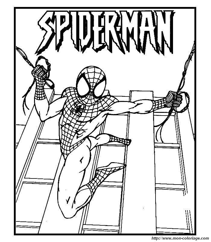 Immagini Da Colorare Spiderman