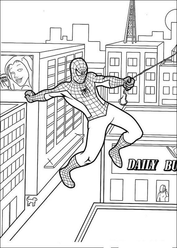 Colorare Spiderman Disegno L Uomo Ragno Da Colorare