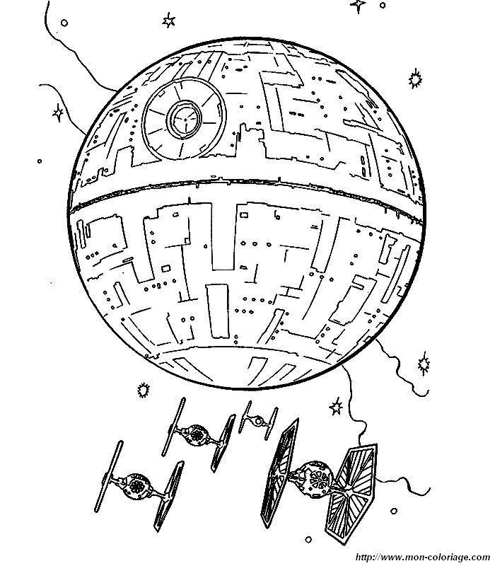 Colorare Star Wars Disegno 016