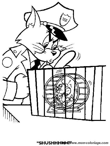 Colorare Tom E Jerry Disegno Tom E Jerry