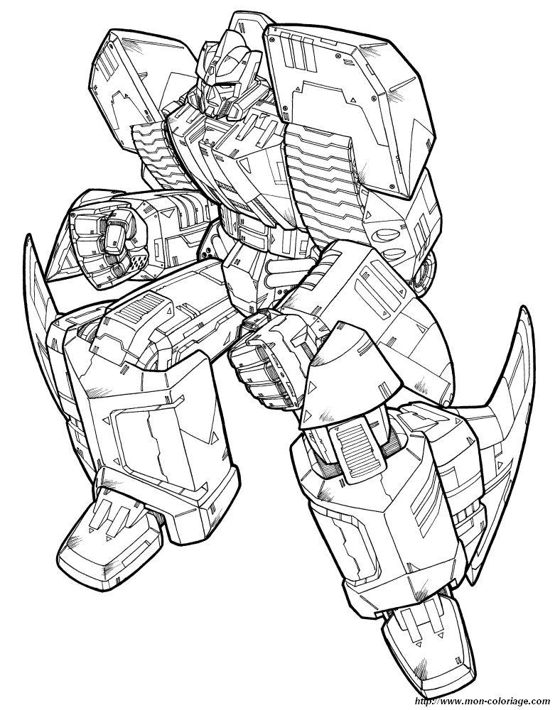 Colorare Transformers Disegno 40 Transformers