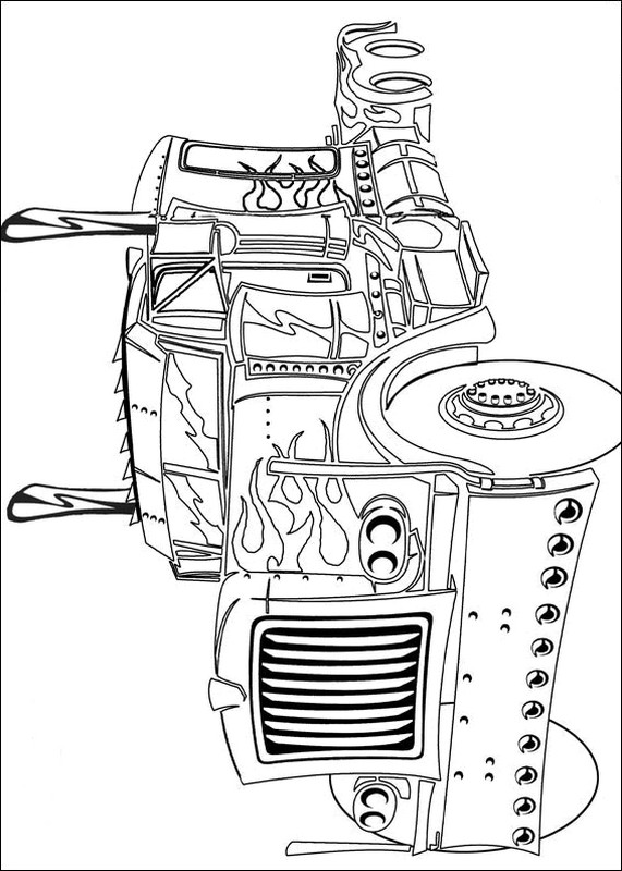 Disegni Da Stampare E Colorare Transformers