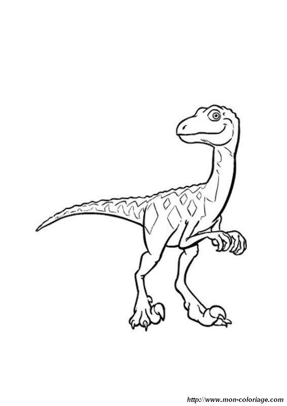 Treno Dei Dinosauri Da Colorare.Colorare Il Treno Dei Dinosauri Disegno Treno Dei Dinosauri 03
