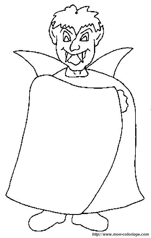 Colorare Vampiri Disegno Vampiri 4